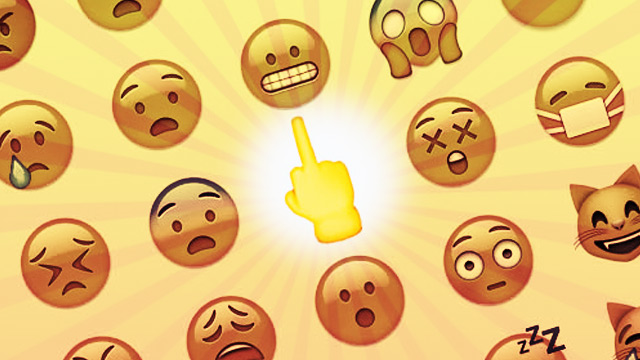Forget The Facebook Dislike Button, Here's Apple's Dirty Finger Emoji!