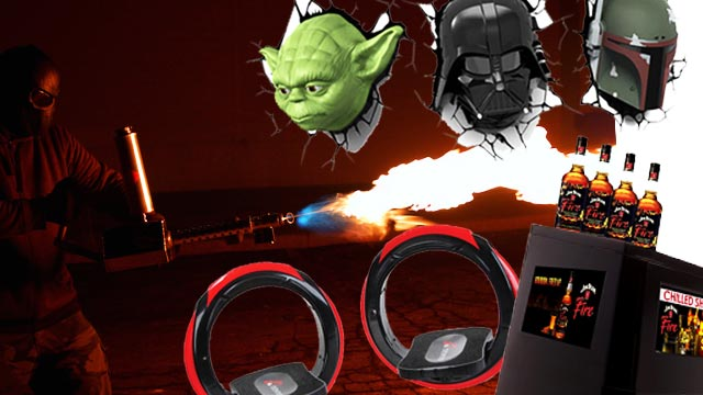 Cool Stuff We Want Right Now: The 'New Skateboard,' A Booze Machine, And A Handheld Flamethrower