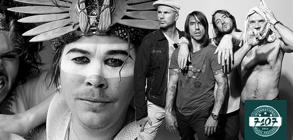 Red Hot Chili Peppers To Play A Full Concert Set At 7107 International Music Festival!