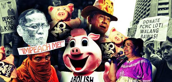 Million People March @ Ayala: Pork Barrel Pointers