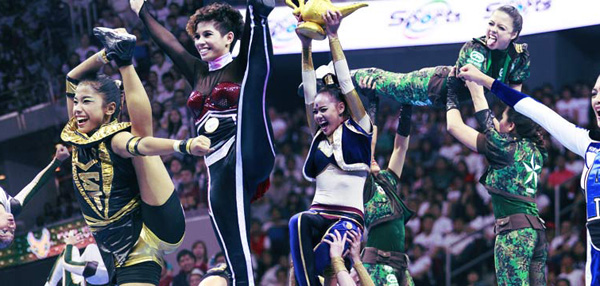 UAAP Cheerdance Competition: A Gallery of Cheerleaders Bringing It On