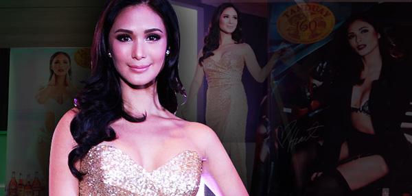 OMG! Heart Evangelista is Tanduay's 2014 Calendar Girl!