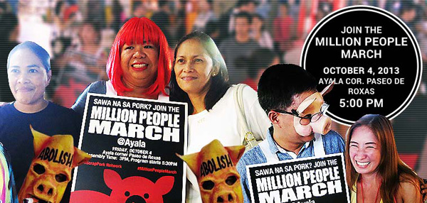 Million People March @ Ayala: How to Hype a Rally the Old-Fashioned Way