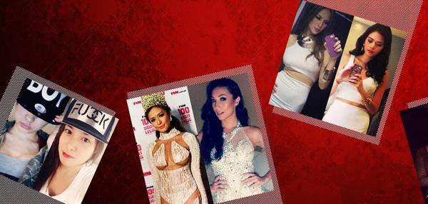 Selfie Wars: Celebrity Battle of the Sexiest Selfies!