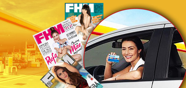Fuel Up With Shell And Get Your Free Copy of FHM!