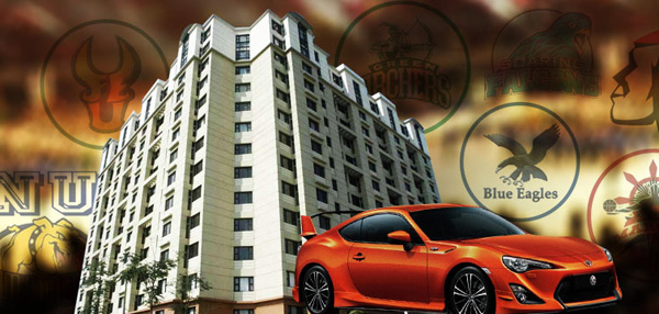 UAAP Recruitment Wars: Why Stop At Cars And Condos?
