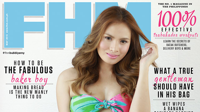 Arny Ross Is FHM's May 2015 Cover Girl!