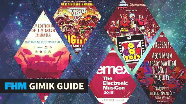 The FHM Gimik Guide: Monster Jam! Fete Dela Musique! Toy Con!
