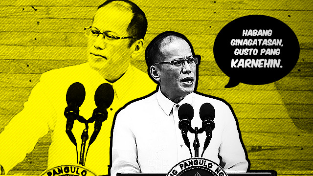 #SONA2015: P-Noy Says The Darndest Things
