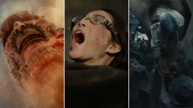 The New Attack On Titan Trailer Has Dropped And It's Looking Pretty Epic