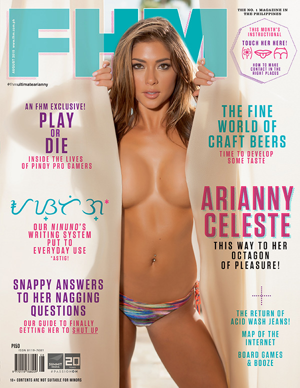 Arianny Celeste Is FHM's August Cover Girl!