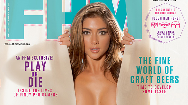 Arianny Celeste Is FHM's August Cover Girl!