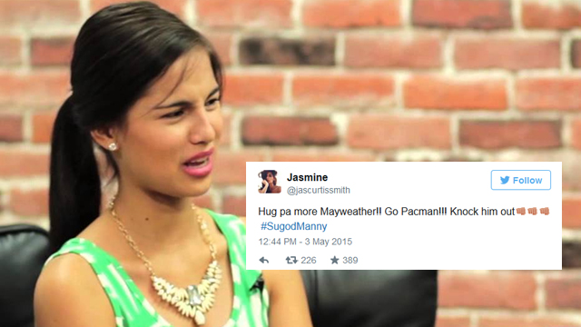 The Best Babe Tweets About #MayPac