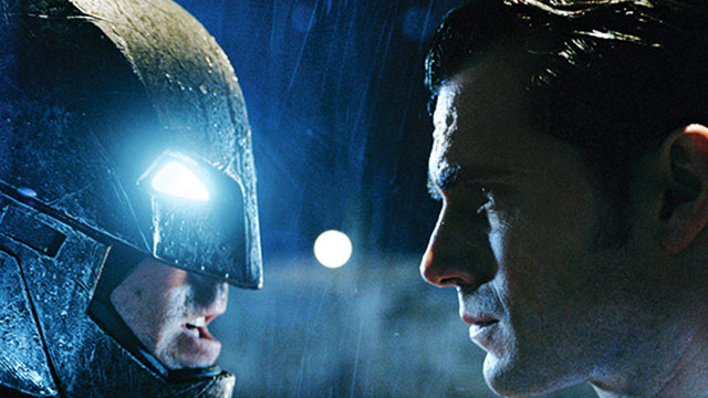 The Dark Knight  And The Man Of Steel Come Face To Face In New 'Batman v. Superman' Photos