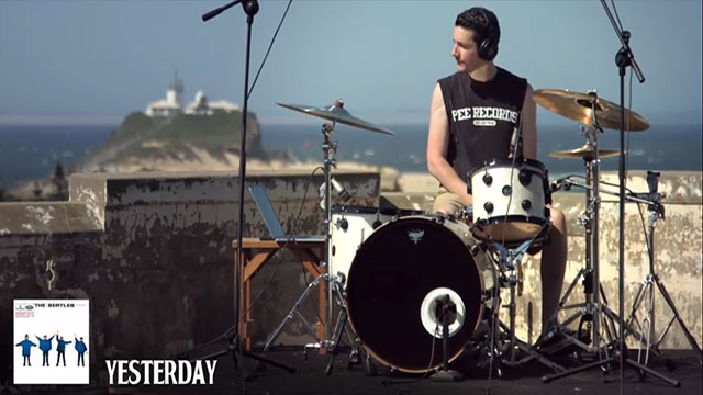 WATCH: Drummer Covers 71 Beatles Songs In 5 Minutes