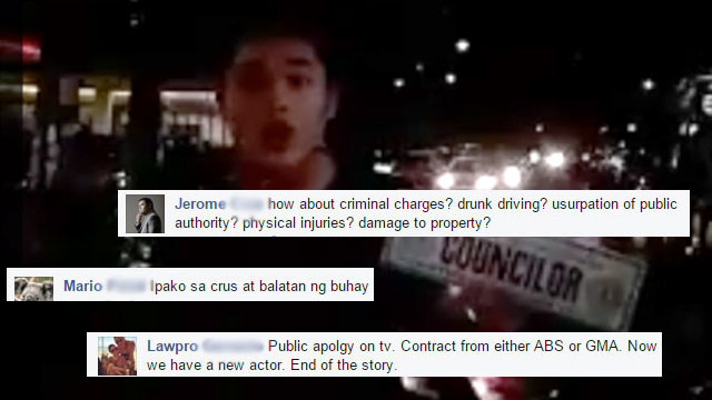 How 'Drunken Eagle' John Apacible Should Really Be Punished According To Netizens