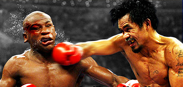 FHM Presents: A Round-By-Round Prediction Of The Mayweather-Pacquiao Fight!