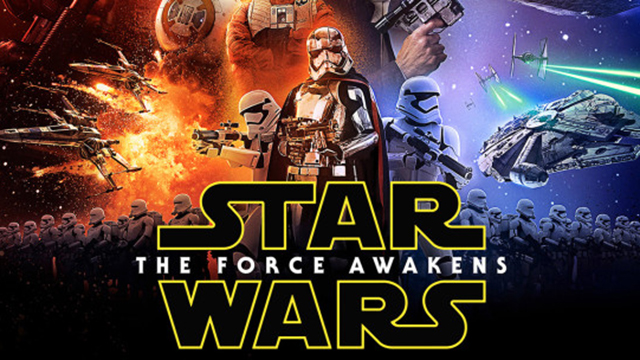 LOOK: The First Official Poster For 'Star Wars: The Force Awakens' Has Been Revealed!