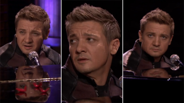 WATCH: 'Overlooked Avenger' Hawkeye Opens Up About His Feelings Through A Song