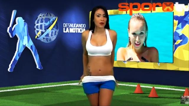 FHM Helps You Survive Hump Day: Hot Venezuelan TV Host