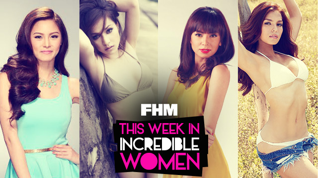 This Week In Incredible Women: Katrina Makes Peace With Hayden, Kim Joins Santacruzan, & Cristine Relishes Motherhood