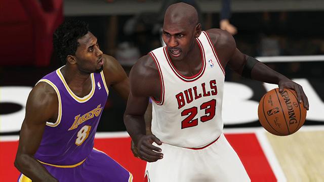 NBA 2K15 Confirms Shaq's Prediction: Team Jordan Can't Beat Kobe And Other Laker Greats
