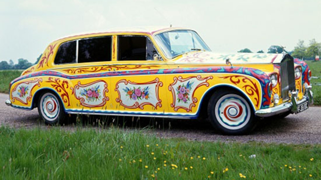 Guess Which Popular Musician Owned This Rolls-Royce With The Paint Job Of A Jeepney