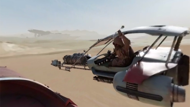Jump Right Into The World Of Star Wars In This Immersive 360-Degree Video