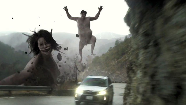 Have You Seen Subaru's Crazy Attack On Titan Commercial?