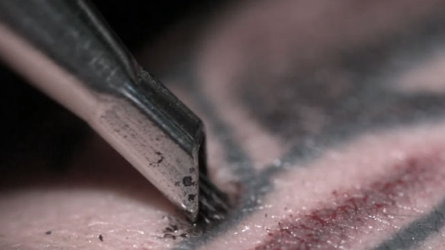 WATCH: This Is What Getting Yourself Inked Looks Like In Super Slow-Motion