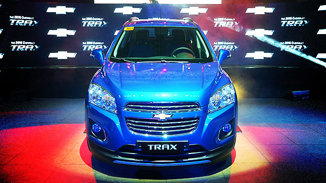 LOOK: Chevrolet's New Mini-SUV, The Chevy Trax, Has A Paint Job Called 'Boracay Blue'