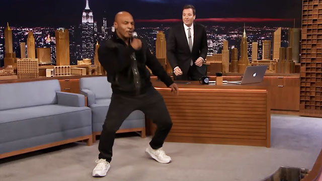 WATCH: Mike Tyson Tries To Dance Like Drake Did In 'Hotline Bling'