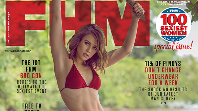 Valeen Montenegro Is FHM's July 2015 Cover Girl!
