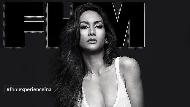 Ina Raymundo Is FHM's November 2015 Cover Girl!