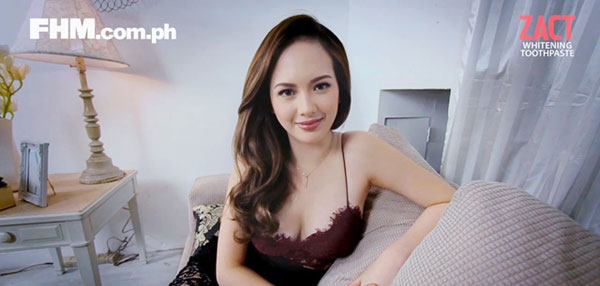 FIRST DATE: Ellen Adarna Would Consider Spending the Night With You If...