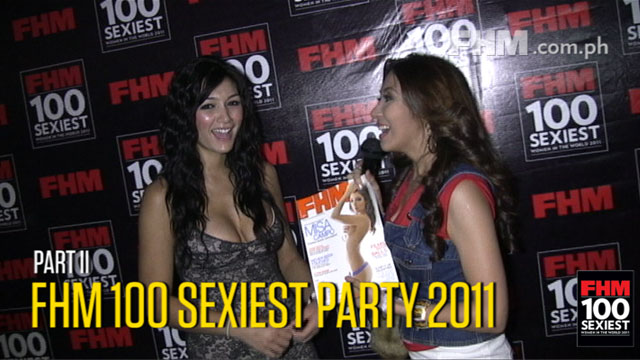 FHM 100 Sexiest  2011 Party  - Keys to the VIP part 2