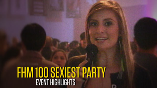 FHM 100 Sexiest  2011 Victory Party Highlights
