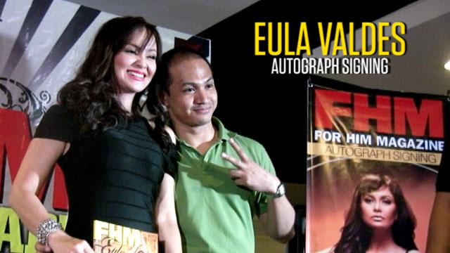 Eula Valdes FHM Autograph signing