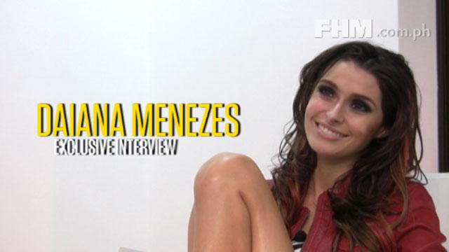 Daiana Menezes opens up!