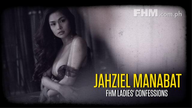 Jahziel Manabat - FHM Ladies' Confessions: Celebrity Diaries