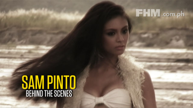 Sam Pinto - FHM Cover Girl December 2011