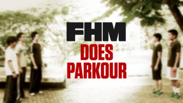 FHM does Parkour!