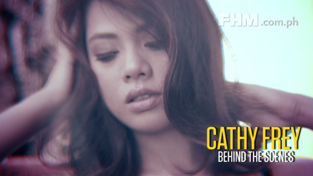 Cathy Frey - FHM Girlfiend of the Month September 2012