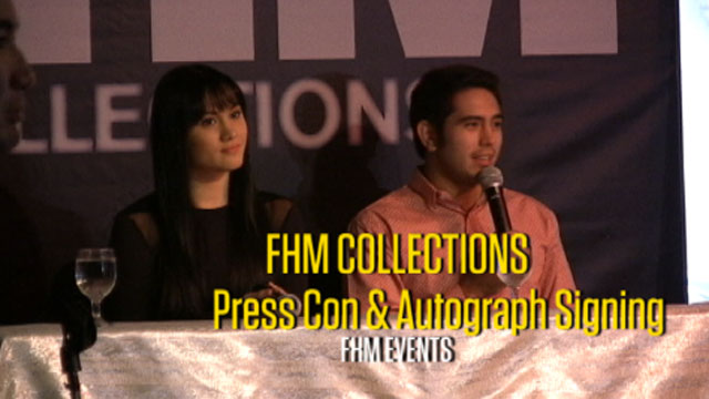 FHM Collections Press Con and Signing