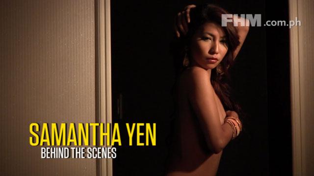 Samantha Yen - FHM Online Babe September 2012