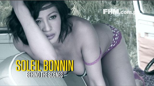 Soleil Bonnin - FHM Girlfriend of the Month December 2012