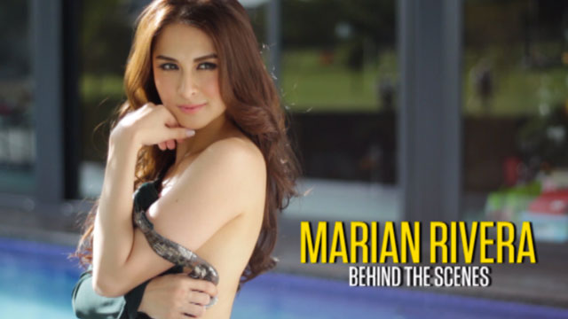 Something is. Marian rivera fhm cover