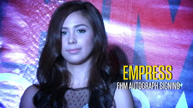 Empress's  FHM autograph signing