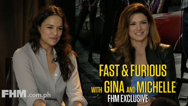 FHM Goes Fast and Furious with Gina and Michelle