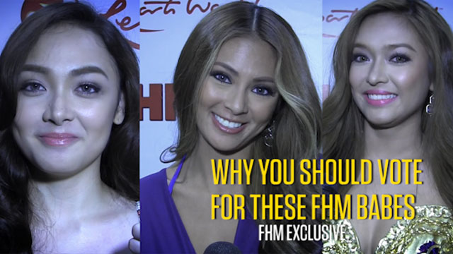 Why You Should Vote For These FHM Babes